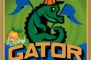 Gainesville Fruit Co. Baby Gator Boy