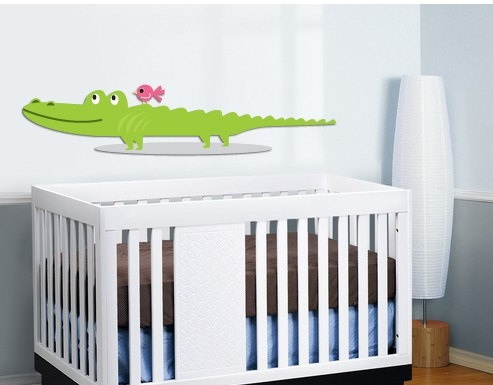 Wall decal Gator