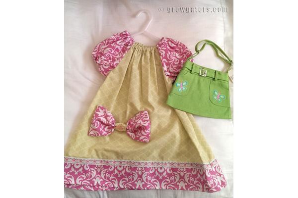 Handmade dress by AvyAnne Originals