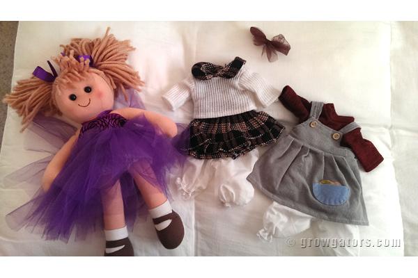 Handmade dolls by LazyKatDesigns
