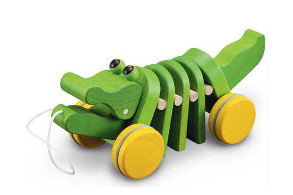 Dancing Alligator by Plan Toys