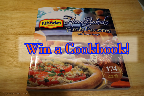 enter to win a cookbook!