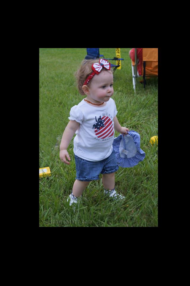 Patriotic look