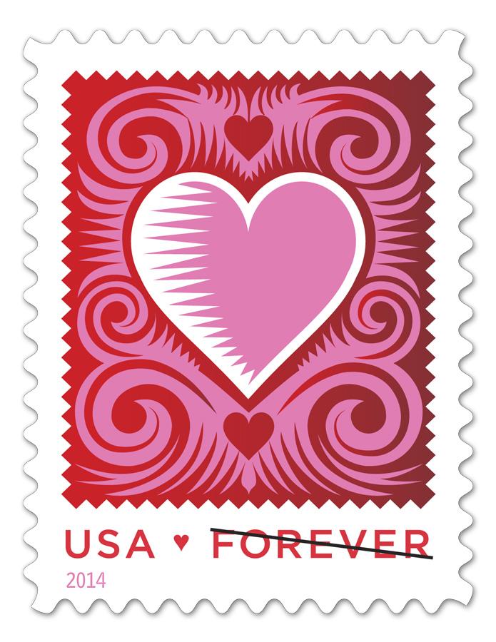 USPS_2014_FOREVER_HEART_STAMP