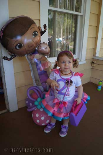 Doc McStuffins Balloon Party
