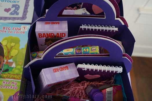 Doc McStuffins goodie bags