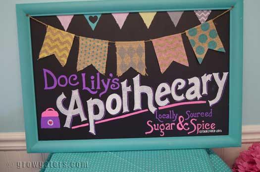 Doc McStuffins party sign