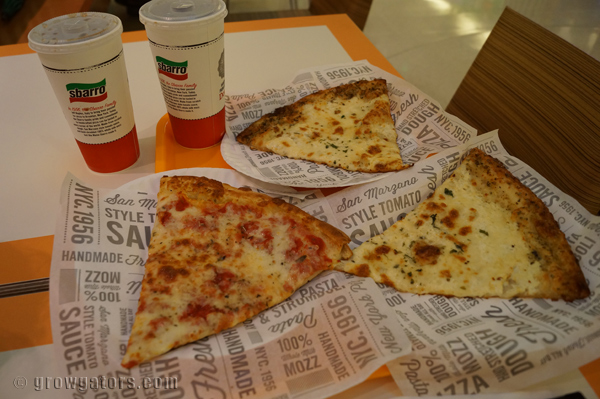 Sbarro 4 Cheese Pizza