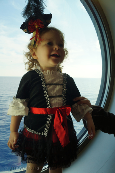 Our little pirate girl. arrgghhh.