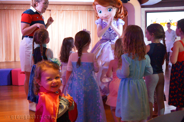 The Pirate/Princess Party was so much fun with some of her favorite Disney Jr. characters.
