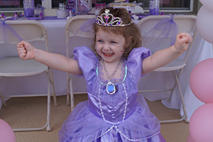 Sofia the first princess party
